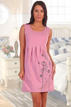 Платье брусничного цвета Натали